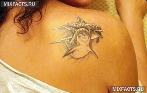 Идеи татуировки в виде дельфина
