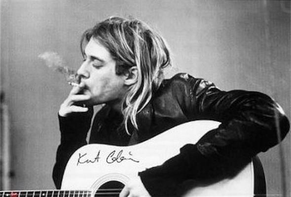 """Курт Кобейн (Kurt Cobain). """"Лучше быть мертвым, чем крутым"""" - решил он и так и сделал... . Изображение № 83."""