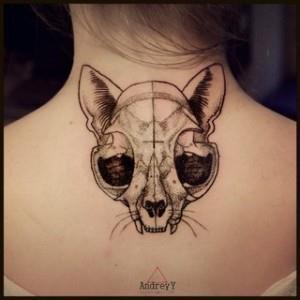 кошка на шее (5)
