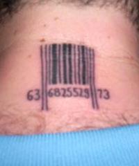 значение татуировки штрихкод