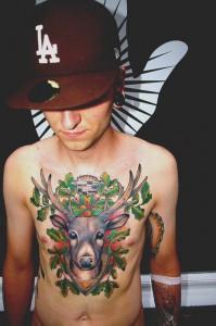 Татуировки олени