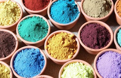 Натуральные краски