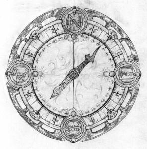 тату компас (9)