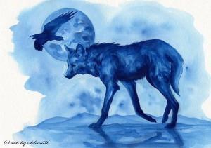 волк эскиз (10)