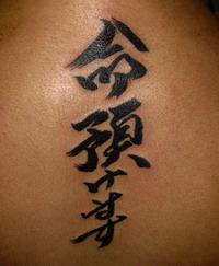 Значение татуировки иероглифов