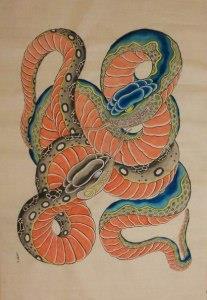 змея эскизы (7)