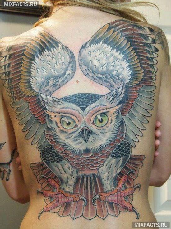 татуировки на всю спину