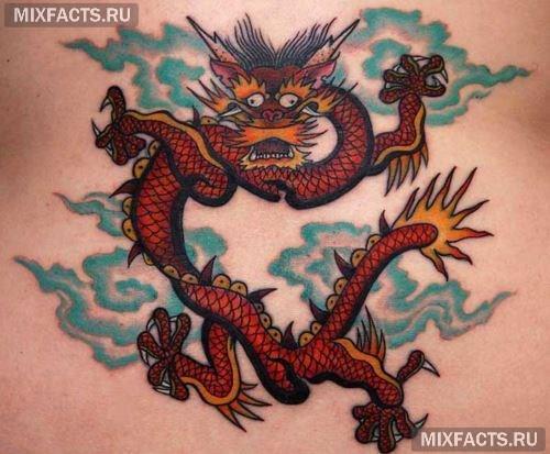 значение тату дракон