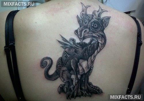 сказочные татуировки для девушек
