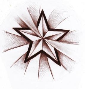 звезда эскиз (25)
