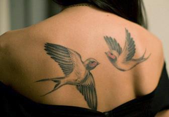 значение татуировок с птицами