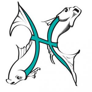 Татуировки знак зодиака Рыбы