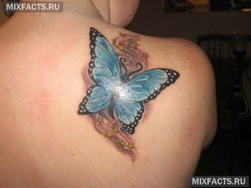 тату бабочка и ее значение