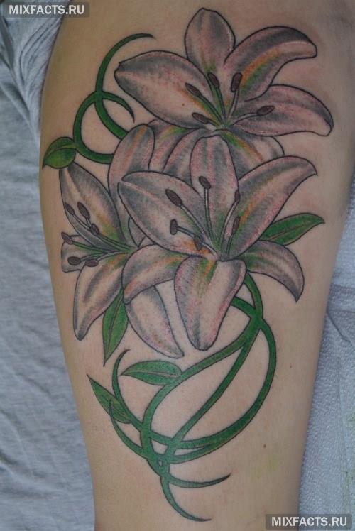 Значение тату лилия