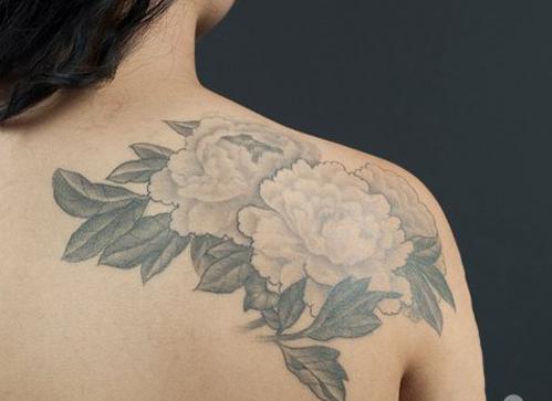 японская Татуировка Цветок пиона