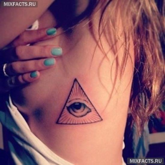 значение тату глаза в треугольнике