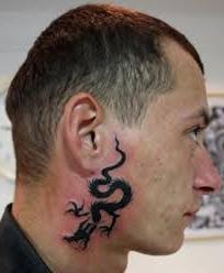 татуировки на шее мужские надписи