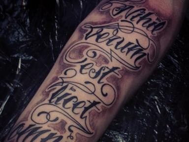 татуировки на латыни значение фото