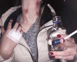 Последствия совмещения алкоголя и тату