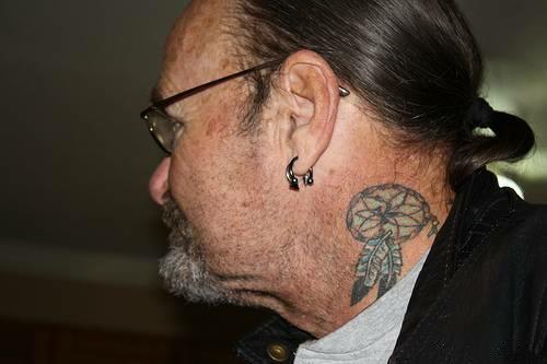 Татуировка ловец снов у парней