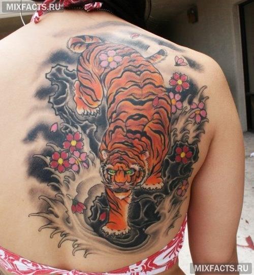 фото тигра татуировки