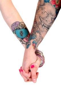 ключи и замки татуировки (1)