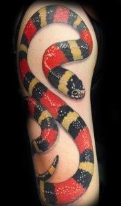 змея на руке (6)