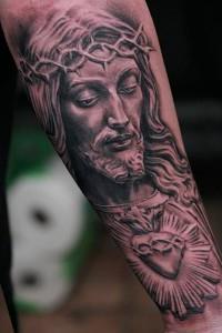 Иисус Христос татуировки