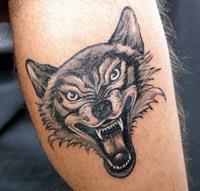 Значение татуировки волка