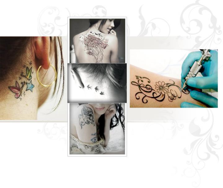 Татуировки женские их значение