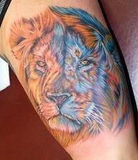 Значение татуировки льва