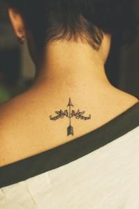 Татуировки знак зодиака Стрелец