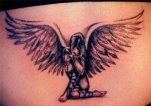 Татуировки с ангелами