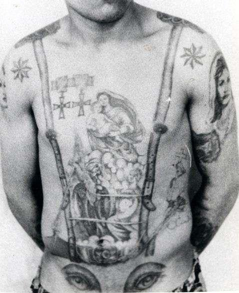 Russian Criminal Tattoo Police Files1