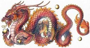 дракон китай