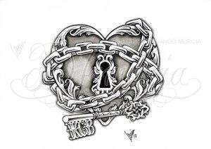 замок и ключи (22)