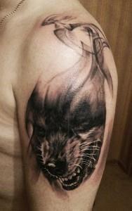 плечо волк (2)