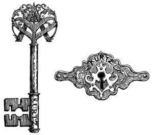 замок и ключи (5)