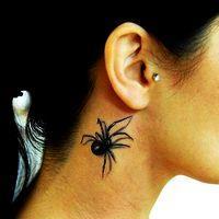 что означает тату паук
