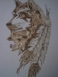 волк эскиз (15)