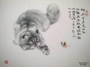 тату кот (1)