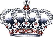 тату корона (15)