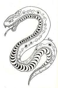 змея эскизы (9)
