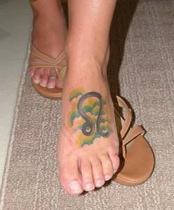 Татуировки знак зодиака Лев