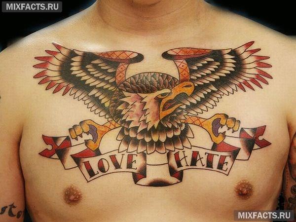 орел татуировка значение