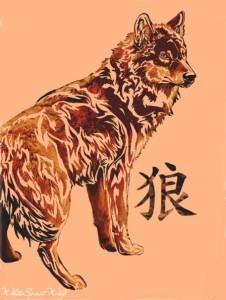 волк эскиз (14)