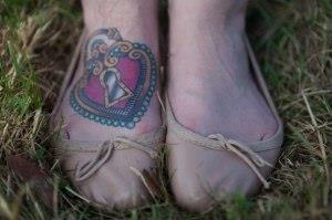 замок на ноге (2)