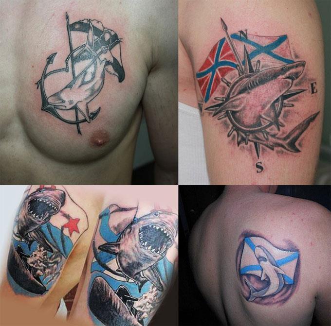 Российские татуировки в военно-морском флоте