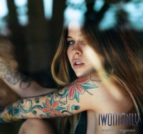 Как вывести татуировку в домашних условиях