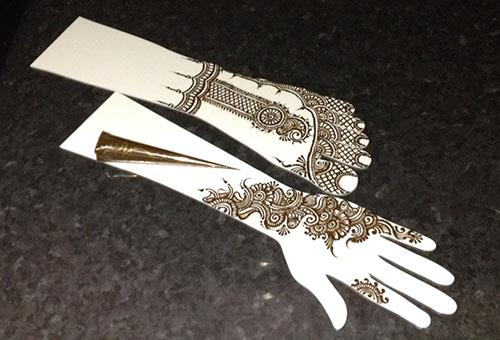 Эскизы мехенди для руки и ноги